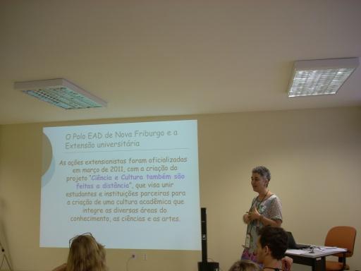 Profª Fátima Kzam - ESUD 2013 - Polo EAD de Nova Friburgo