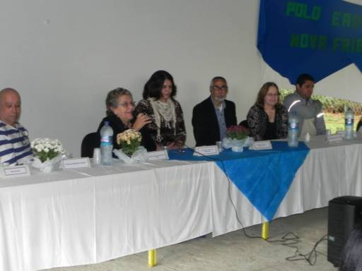 Aula inaugural - Polo CEDERJ de Nova Friburgo - Mesa 4