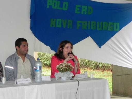 Aula inaugural - Polo CEDERJ de Nova Friburgo - Mesa 5