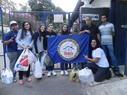 Lar Abrigo Amor a Jesus - Visita de alunos do Polo EAD de Nova Friburgo - 2