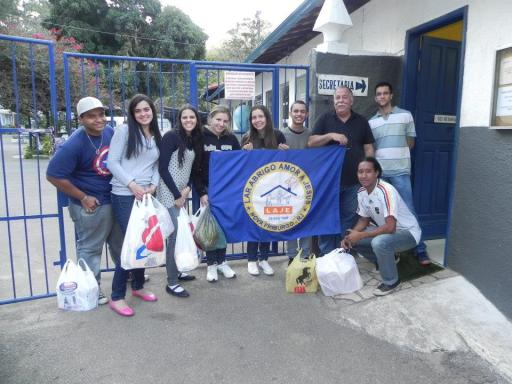 Lar Abrigo Amor a Jesus - Visita de alunos do Polo EAD de Nova Friburgo - 3