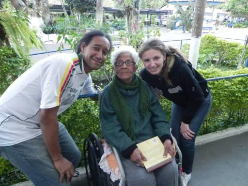 Lar Abrigo Amor a Jesus - Visita de alunos do Polo EAD de Nova Friburgo - 6