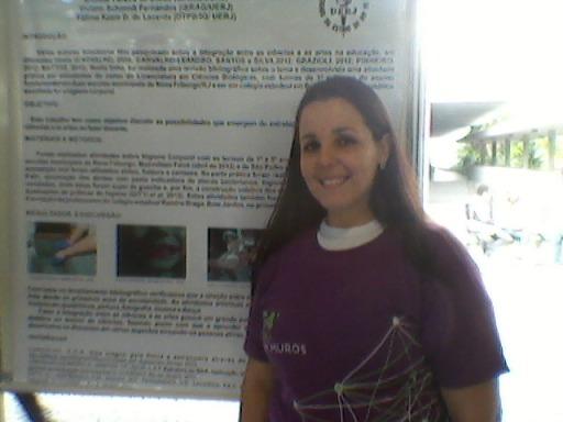 A estudante Viviane Louback Gitti