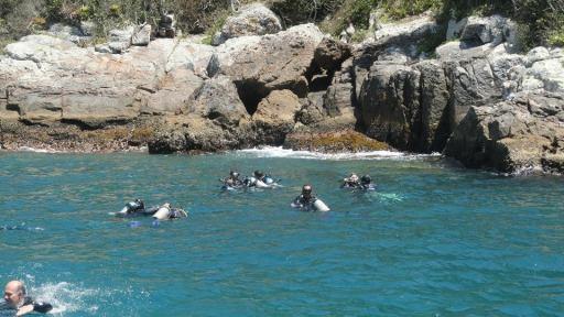 Batismo de mergulho 5