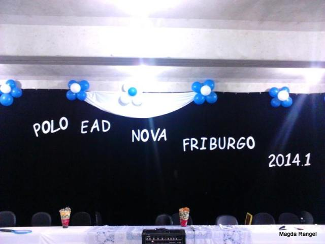 Aula inaugural 2014-1 - Polo EAD de NF - 1