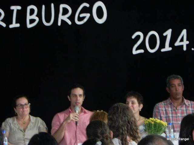 Professor Luís Maffei, representante do curso de Letras (UFF)