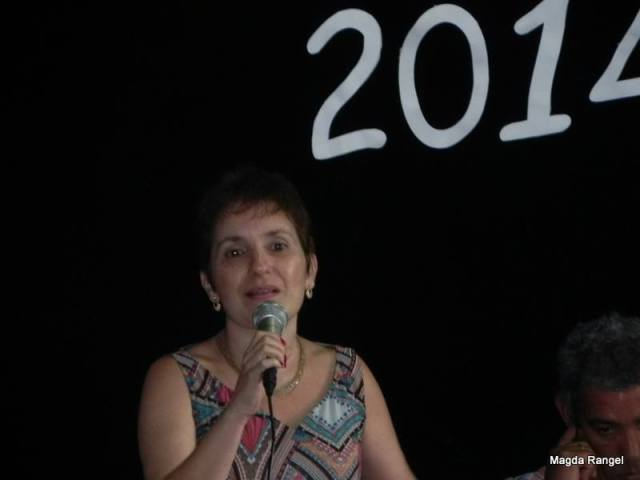Professora Helena Feres Hawad, representante do curso de Pedagogia (UERJ)