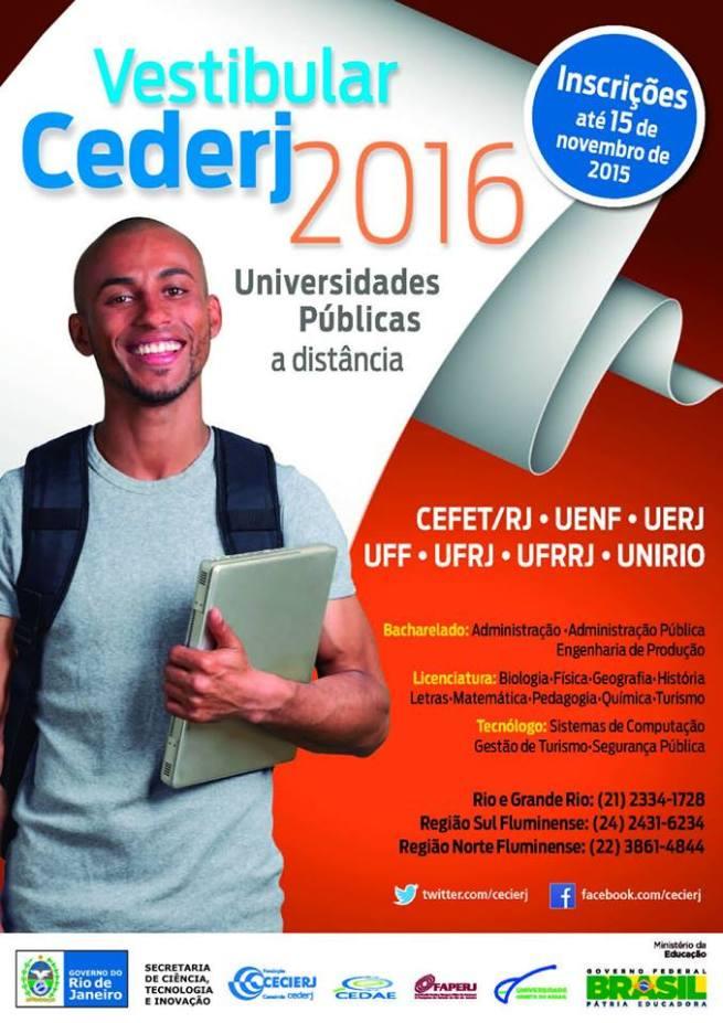 Vestibular CEDERJ 2016