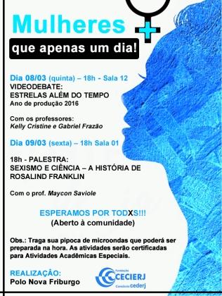 Cartaz Dia das Mulheres Polo NFR Azul (1)
