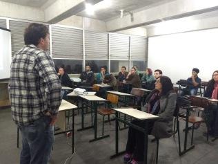 Figura 4: Grupos presente no segundo dia de palestra. Créditos: Carolina Maciel Mattos.