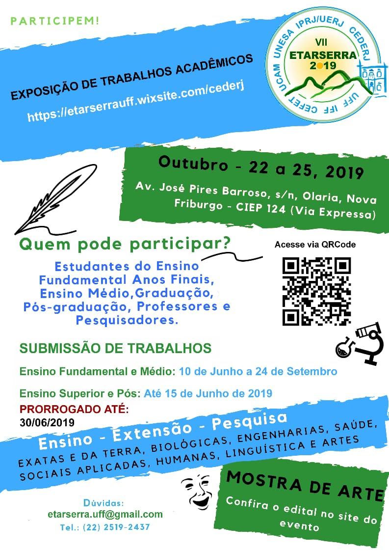 Cartaz Etarserra - até 30-06-2019